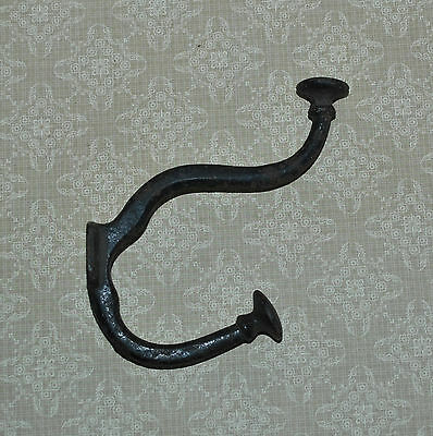 Antique Cast Iron Large Double Coat Hook