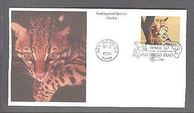 ENDANGERED SPECIES, Ocelot, San Diego Zoo cancelled, 1996