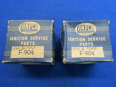 Vintage Distributor Inner Terminal Caps NORS 1932-36 Ford Flathead V8 32 Hot Rod