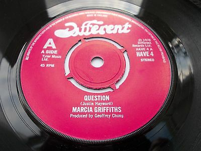 Marcia Griffiths - Questions 7' 1978 Different Vg+ Listen