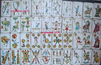 Spanish Republic Vintage Playing Cards Chocolate Encino