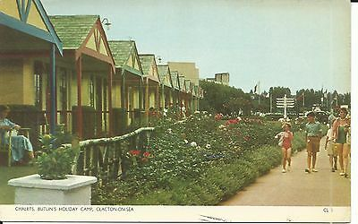 BUTLINS CLACTON ON SEA THE CHALETS CL5 1960s PC