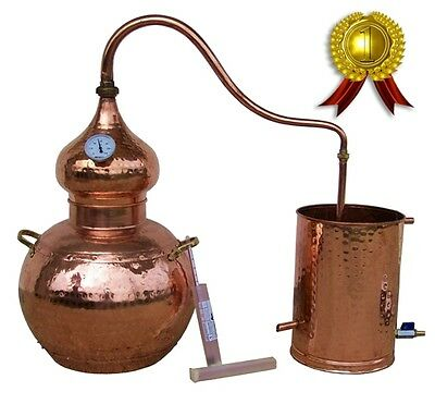 Distiller 30 liters - Alambic - Alambique - Alambicco - Alembic - Still