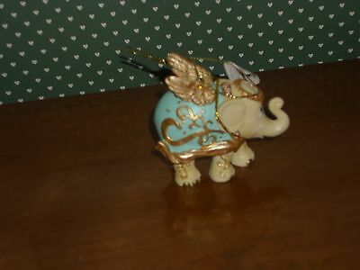 Westland-Elephant Parade -2014 -Golden Angel Ornament-New In Box
