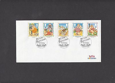 1994 Picture Postcards Butlins Holidays commercial envelope First Day Cover