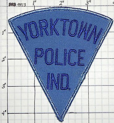 Indiana, Yorktown Police Dept Patch