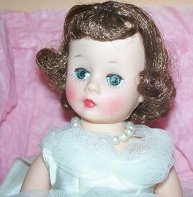 1957 Madame Alexander CISSETTE BRIDE In Original Box