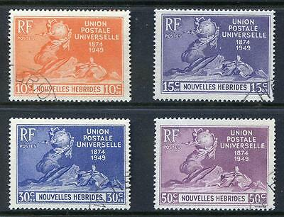 French New Hebrides 1949 UPU very fine used (2016/11/25#02)