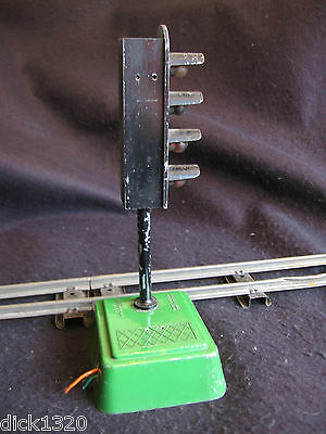VINTAGE SEL BATTERY POWERED ELECTRIC RAILWAY SIGNALS c.1950's A/F