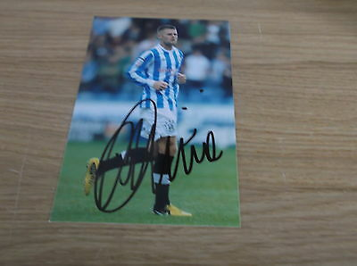 Huddersfield Town fc Oliver Norwood Hand Signed 6x4 Photo