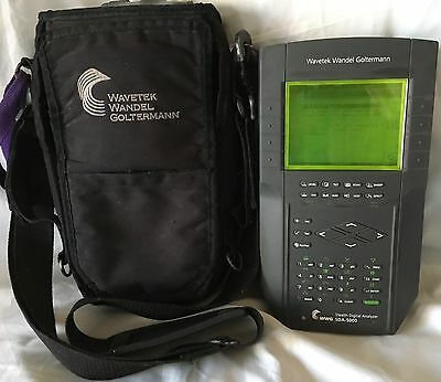 Wavetek / Wandel Goltermann SDA-5000 Stealth Digital Analyzer WWG *WORKING!*