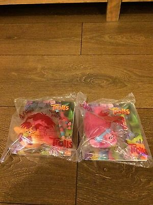 Trolls McDonald's Toys Figures New Poppy And King Peppy Toy Figure