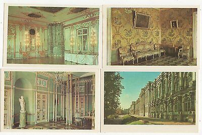 The Palace At Pushkin Russia Lot of 16 Postcards + Folder 1971 0939