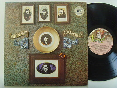 """Steeleye Span - Individually & Collectively 12"""" Lp 1977"""