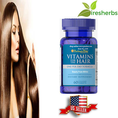 Fast Grow Vitamins for Hair Growth for African American Women 60 Caplets