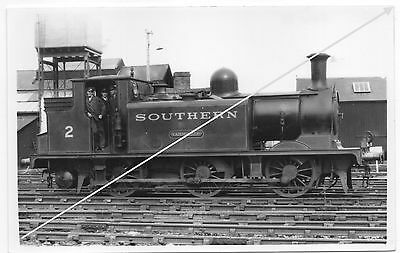 Southern Railway Isle of Wight 0-6-0 no. 2 Yarmouth ex LB&SCR E1 class