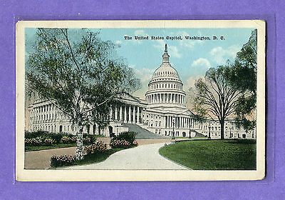 The United States Capitol, Washington, D.C. Nov. 26, 1920 USED pc. EX. cond.