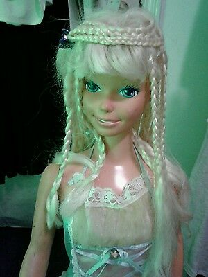 Vintage life size barbie doll 3' mexico