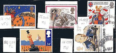 UK - a fu sel. (5 no) from sg1174 to sg1339