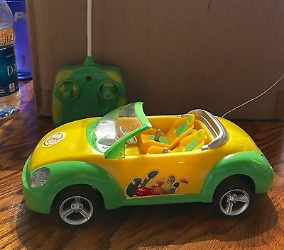 Veggie Tales Remote Control Car RC Convertible VEGGIE VERTIBLE