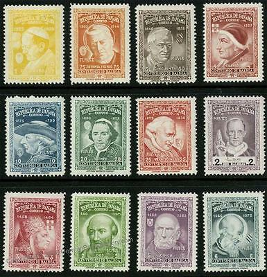 Panama Unissued Pope Set of 12 MNH 29970