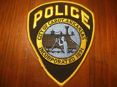 Cabot Arkansas Police Patch (With Train)