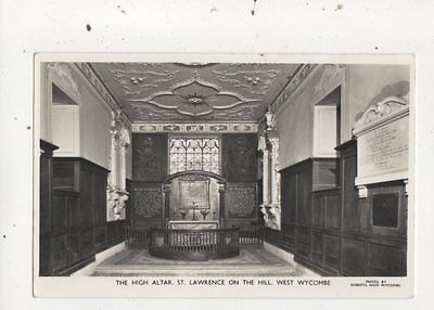 High Altar St Lawrence On The Hill West Wycombe Vintage RP Postcard 761a