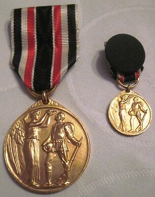Germany WWI German Honour Legion medal Furg Dagerland 1914 with miniature,order