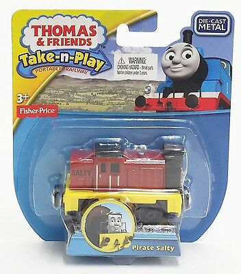 Fisher-Price CDY31 Thomas and Friends Take-n-Play Railway Pirate SALTY Engine