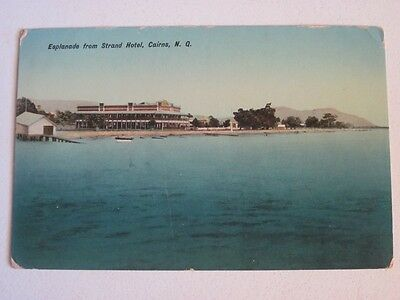 old Cairns Strand Hotel North Qld postcard