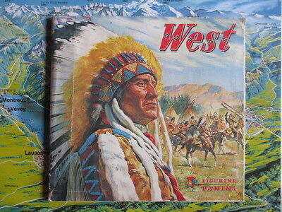 1976  Panini Album  West  With  397 Stickers  The Real Story Of American Indians