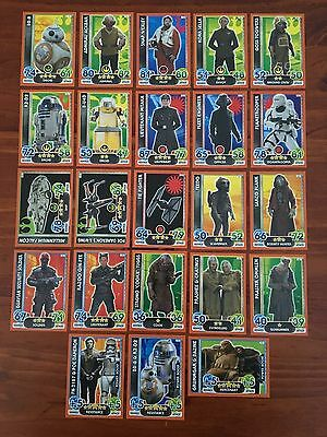Star Wars - Force Attax Extra (TOPPS collector cards) 23 x Cards Lot No.3