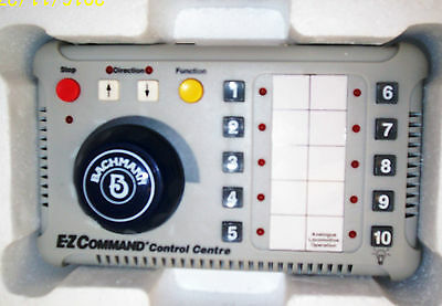ex Bachmann The Highlander Set E-Z Command digital controller with leads etc