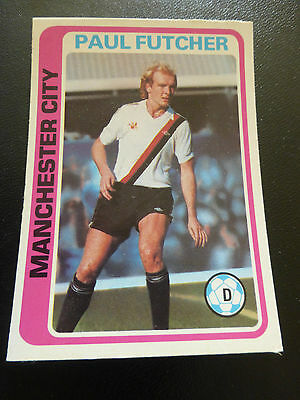 Topps Footballers # 254 Card 1979 Pale Blue Back Excellent Condition