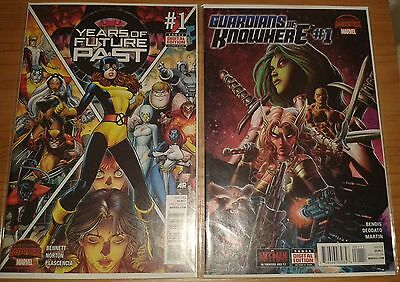 Marvel | Secret Wars | Years Of Future Past Issue 1 & Guardians Of Knowhere #1