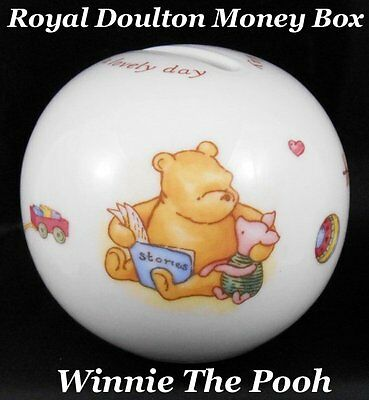 Royal Doulton Winnie The Pooh Christening Day Money Ball