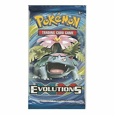 Pokemon Trading Card Game - Evolutions 1, 5 or 10 packs supplied NEW