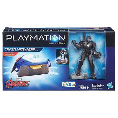 PLAYMATION MARVEL Avengers POWER ACTIVATOR W/ WAR MACHINE TOYS R US EXCLUSIVE