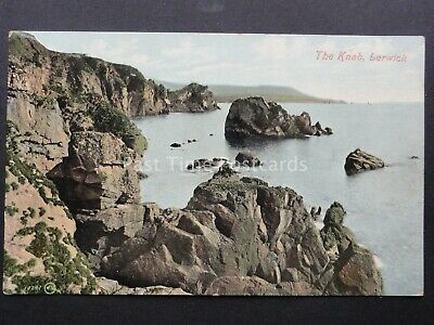 Scotland SHETLAND Lerwick THE KNAB - Old Postcard by Valentine 19241