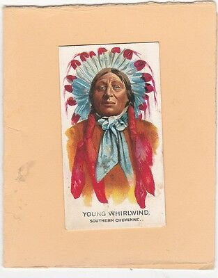 GANONG BROS (CANADA) SCARCE CARD FROM BIG CHIEF.No41.YOUNG WHIRLWIND.ISSUED 1925