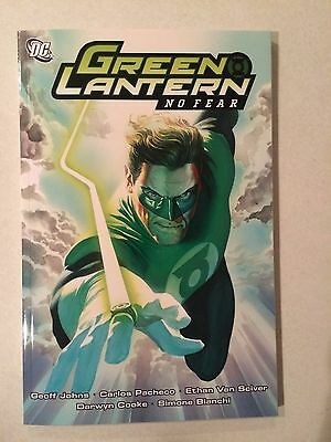 Green Lantern No Fear softcover brand new condition  Geoff Johns