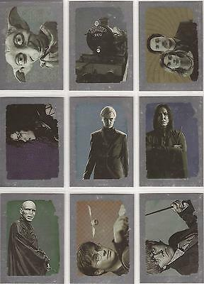 Harry Potter Deathly Hallows Part 2 - Foil 9 Card Chase Set R1-9