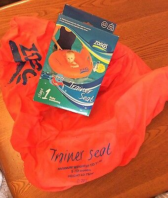 *Zoggs* Baby Swimming Trainer Seat. Age 3-12 Months. Used Once!