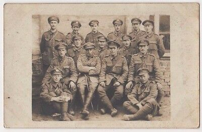 WW1, Morlancourt, Somme, Scouts 20th Manchester Regiment RP Postcard, B598