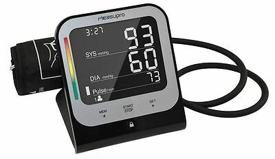 Digital Upper Arm Blood Pressure Monitor with Heart Rate Detector,