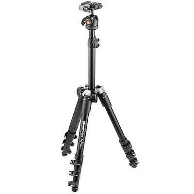 Manfrotto Befree One Aluminum Lightweight Tripod with Ball Head, Black