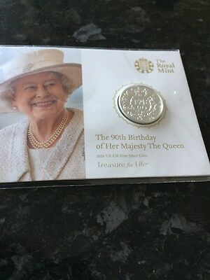 queens 90th birthday coin