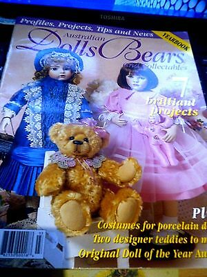 AUSTRALIAN DOLLS BEARS AND COLLECTABLES MAGAZINE VOL 12 No 2