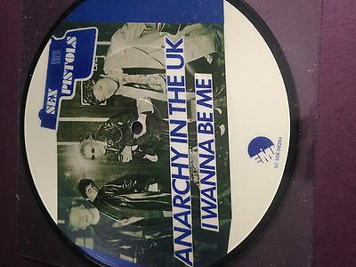 sex pistols - Anarchy in the UK-German Pic Disc- punk and collectable