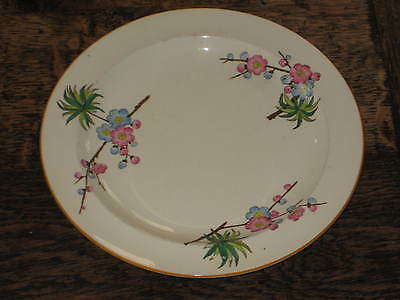 Wedgwood Plate Aesthetic Japanesque Design Prunus Late Victorian